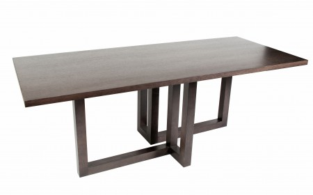 Elle Oak to Grey Table