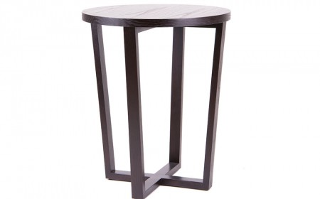 solid contemporary side table