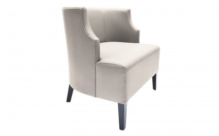 CURVED COCKTAIL ARMCHAIR