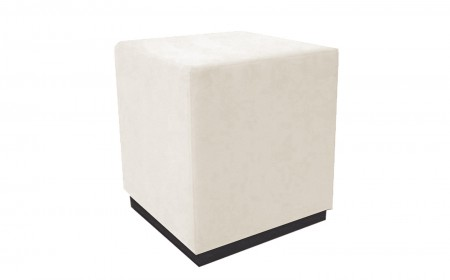 TDN Custom Cube upholstered stool