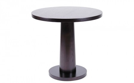 Pedestal table circular base