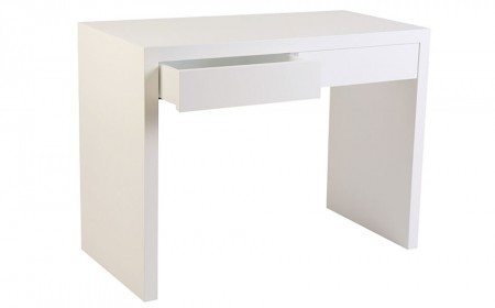 Morris 2 drawer white