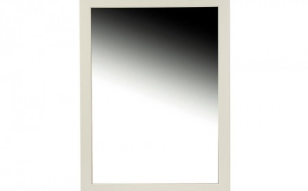 Mirror frame semi matt