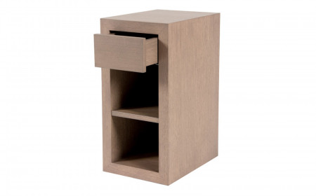 Morris cube 1 drawer lower shelf