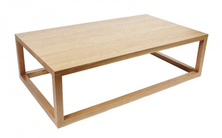 Open Cube Coffee table Natural Oak2