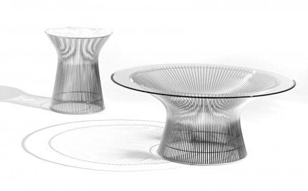 Knoll Platner side table 0005s 0000s 0000 Platner+Low+4