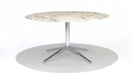 Florence Knoll round high desk