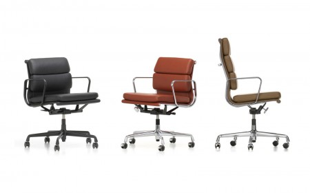 Vitra Eames 217219 soft pad chairs