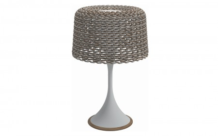Gloster Mesh Table lamp 0009s 0000 ambient mesh small lantern sorrel